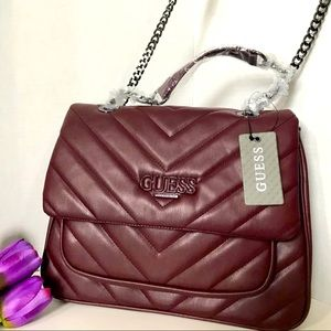 Guess Quilted Convertible bag